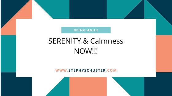 Serenity & Calmeness NOW!